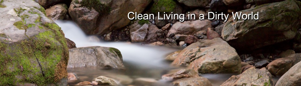Clean Living In A Dirty World