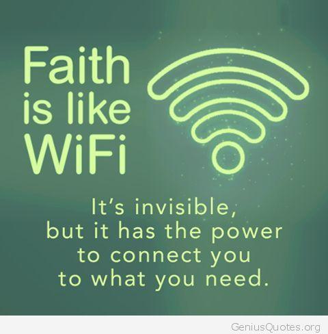Faith…in God