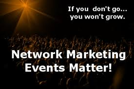 network marketing events matter