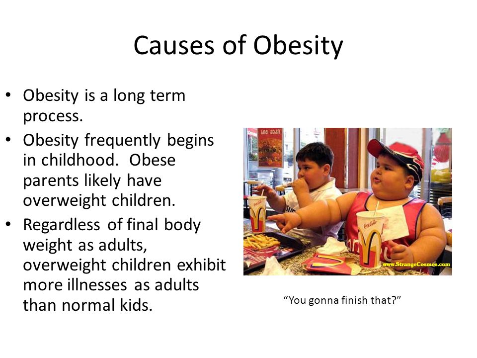 Causes+of+Obesity+Obesity+is+a+long+term+process.