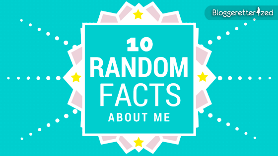 Top 10 fun facts aboutme