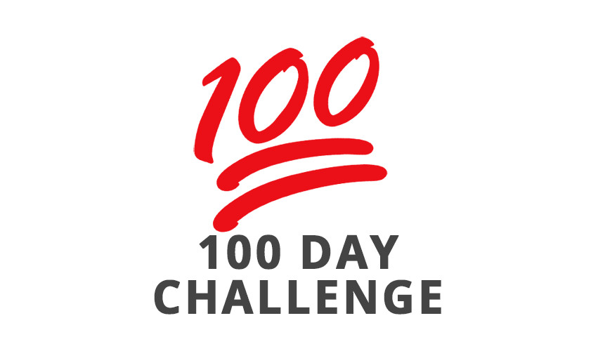 One-hundred Days of Blogging and Going Live onFacebook!